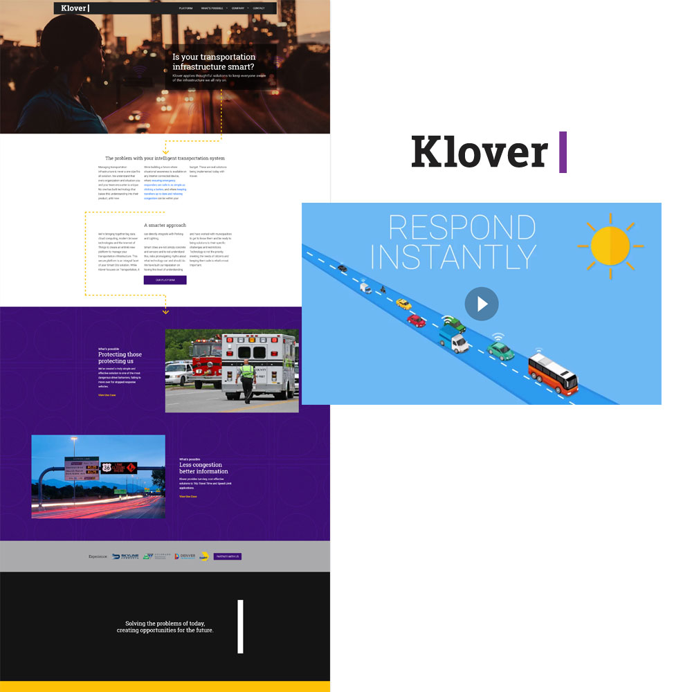 Klover marketing assets